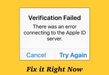 How to Fix Verification Failed Error on iPhone and iPad
