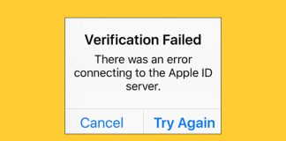 How to Fix Verification Failed Error on iPhone and iPad