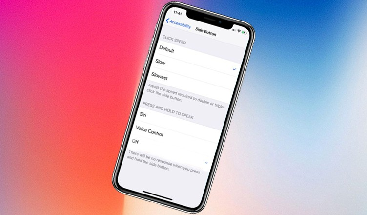 How to Prevent iPhone X Side Button from Invoking Siri Accidentally