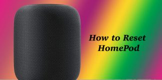 How to Factory Reset HomePod