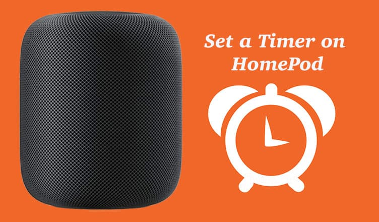 How to Set a Timer on HomePod