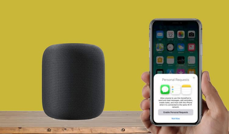 How to Turn Off Personal Request on HomePod