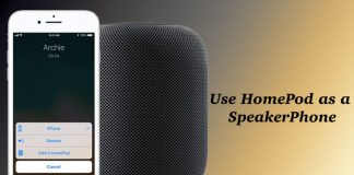 How to Use HomePod as a SpeakerPhone