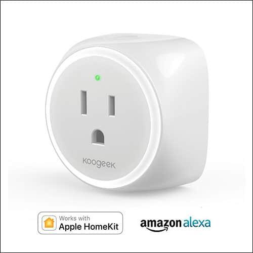 Koogeek Smart Plugs for HomePod