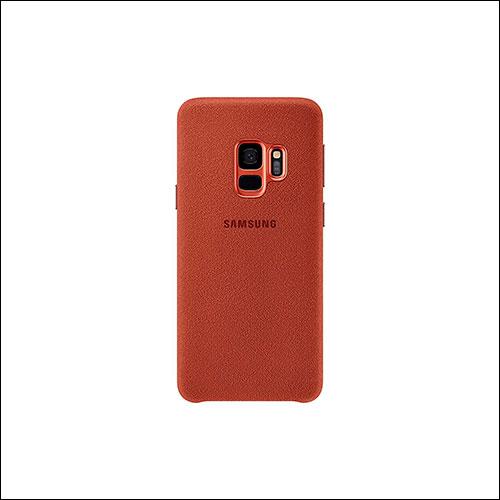 Samsung Galaxy S9 Alcantra Case