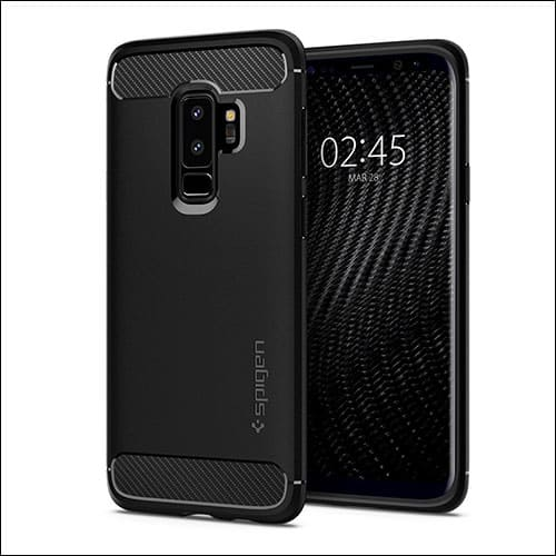 Spigen Rugged Armor Case for Galaxy S9 Plus