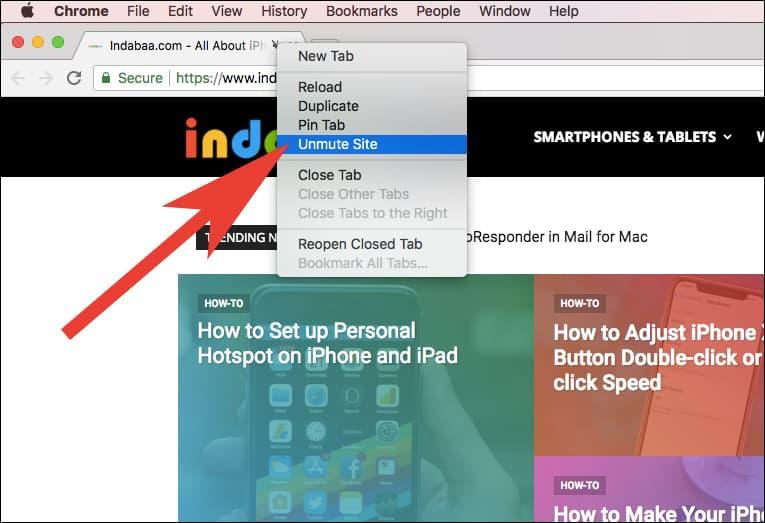 UN-Mute Entire Website in Chrome on Windows PC or Mac