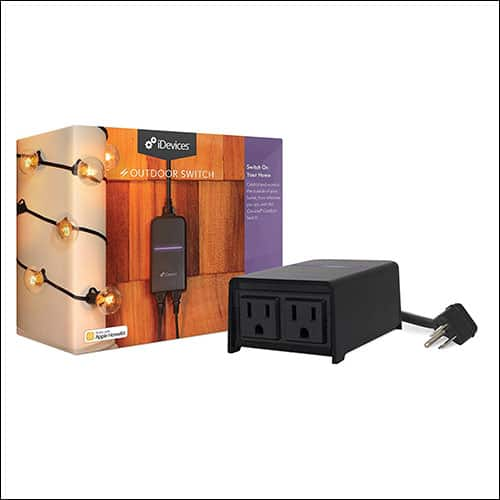 iDevices Outdoor Switch Siri Compatible Smart Plug