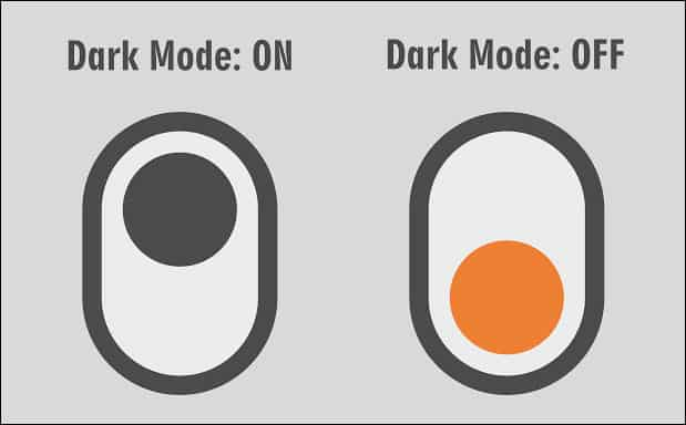 Activate Google Chrome Dark Mode
