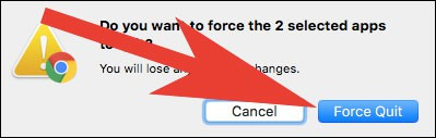 Click on Force Quit on Mac  - Click on Force Quit on Mac - App Got Stuck on Mac? How to Force Quit Apps on Mac