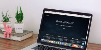 Dark Mode List -Collection Night Mode Supported Mac and iOS Apps