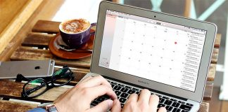 How to View Calendar Events as a List on Mac