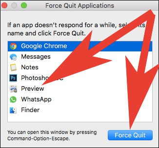 Select App to Force Quit on Mac  - Select App to Force Quit on Mac - App Got Stuck on Mac? How to Force Quit Apps on Mac