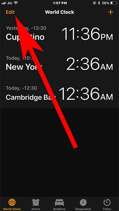 How to Use World Clock on iPhone or iPad