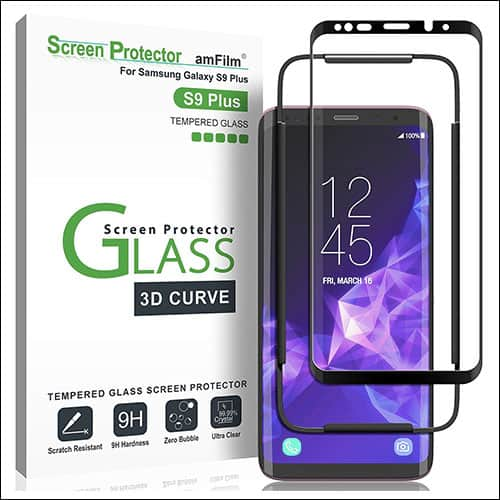 amFilm Galaxy S9 Plus Screen Protector