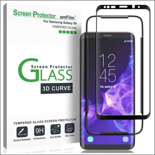 amFilm Galaxy S9 Screen Protector