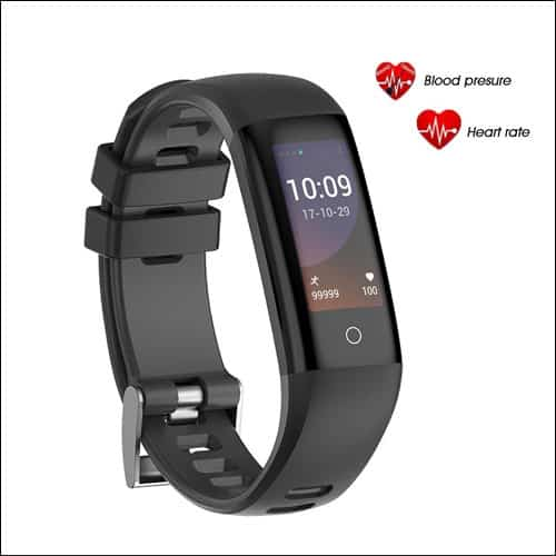 AGKupel Activity Tracker Watch Smart Bracelet with Heart Rate Blood Pressure Monitor