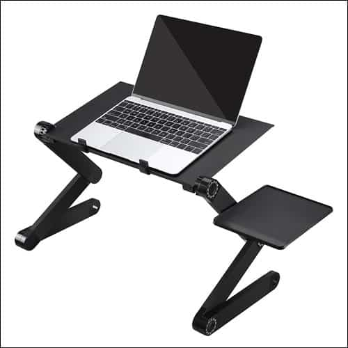 AOOU Portable Adjustable Vented Laptop Stand