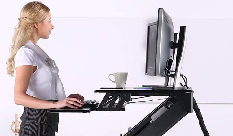 Best Adjustable Standing Desk for Mac: MacBook Pro:Air