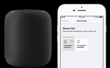 How to Set Up Stereo Pair with Two HomePods