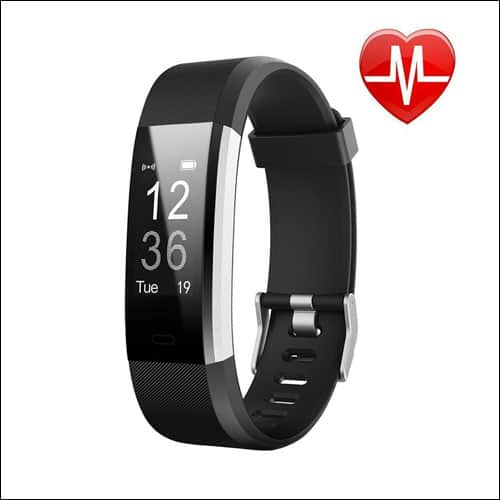 Letscom Activity Tracker with Heart Rate Monitor Watch