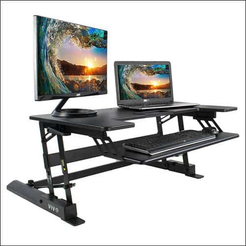 VIVO Height Adjustable Standing Desk for Mac