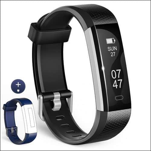 - Wesoo Activity Tracker Smart Band with Sleep Monitor - 10 Best Fitness Trackers Under $50 You Can Buy in 2018