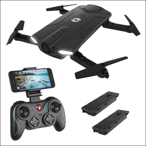 Holy Stone HS160 Shadow FPV RC Drone for Kids & Beginners