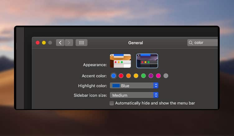 How to Enable Dark Mode on macOS Mojave