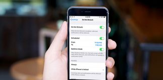 How to Enable Do Not Disturb Bedtime Mode in iOS 12 on iPhone