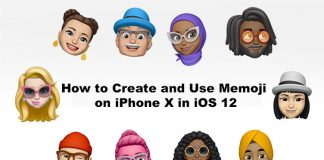 How to Make Custom Memoji on iPhone X in iOS 12