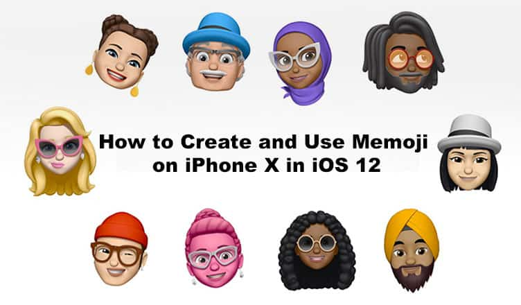 How to Make Custom Memoji on iPhone X in iOS 12