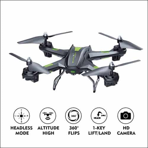 LBLA FPV Drone with Wifi Camera Live Video