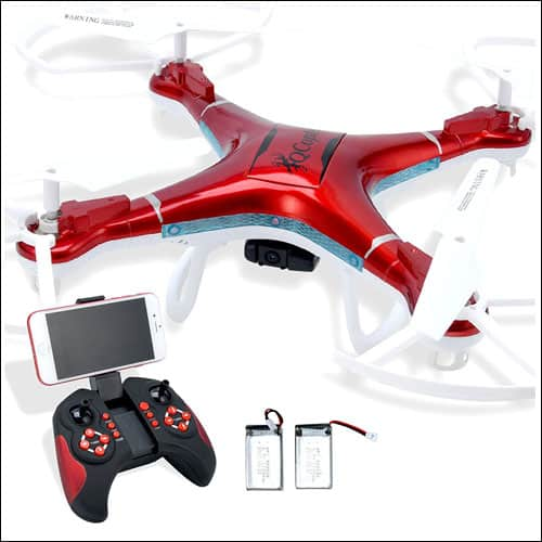 Quadcopter Drone with Camera Live Video, Drones FPV for Beginners