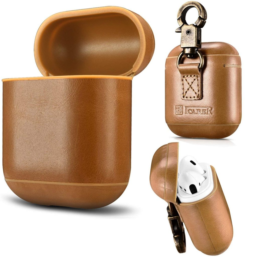 Aroko AirPods Leather Case