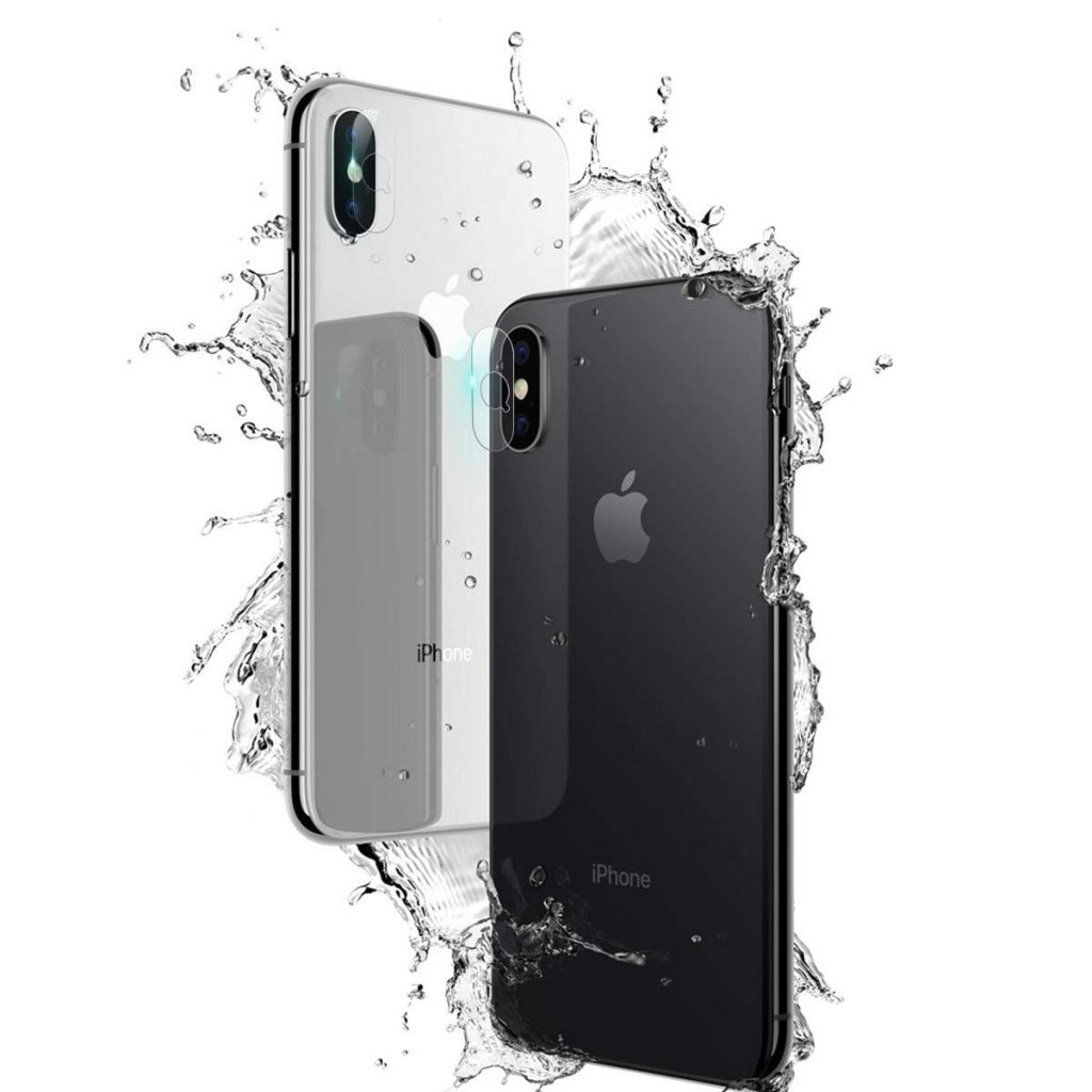 AKWOX iPhone Xs camera lens protector
