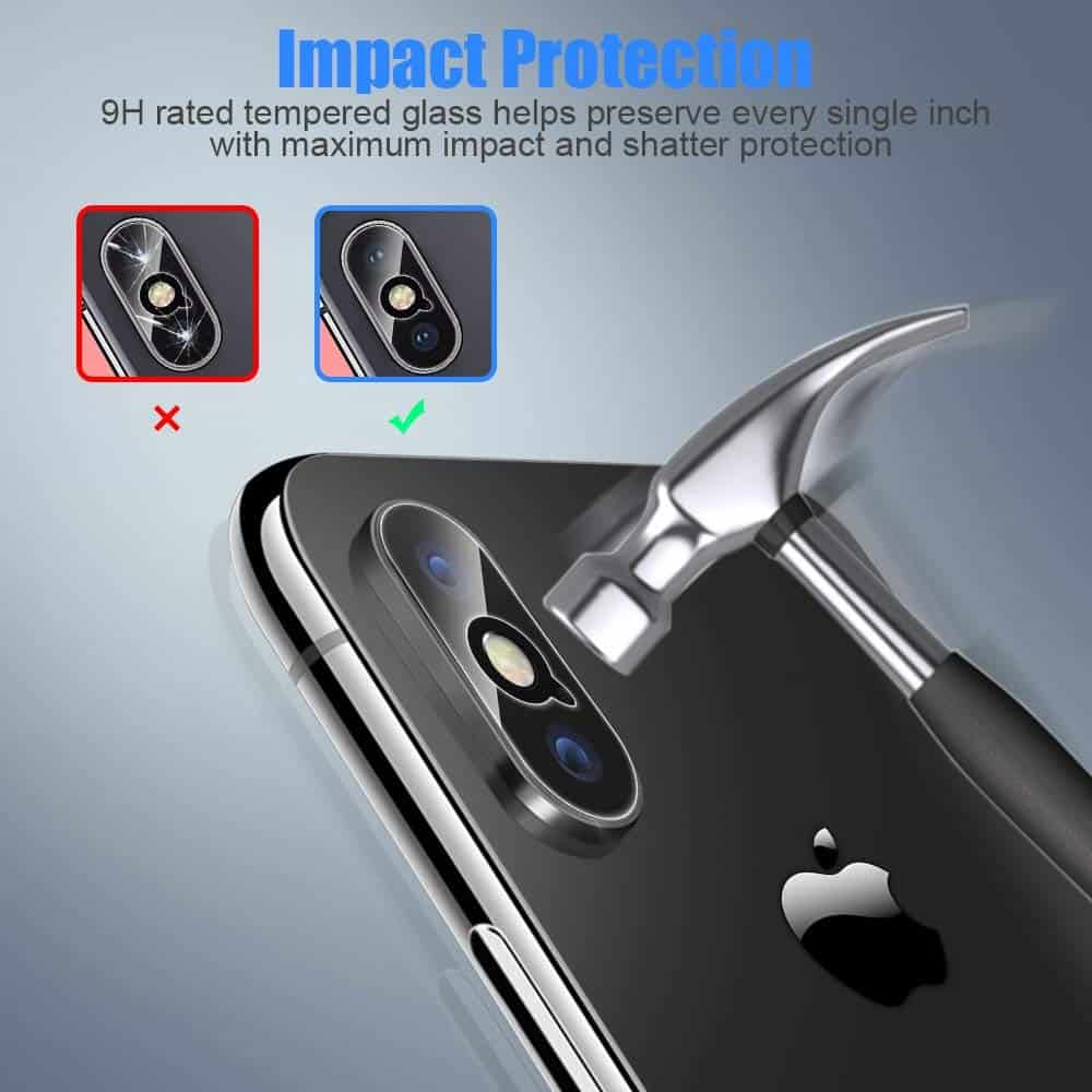 ICHECKEY  - 4 5 - Best Protection for iPhone X and iPhone XS Camera Lens