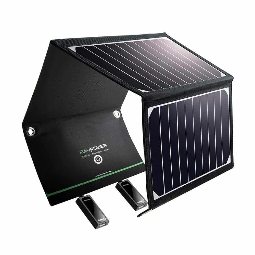 Best iPhone XS Solar Power Chargers RAVPower