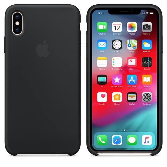Best iPhone XS Max Cases Apple Silicon Case  - 1 - Best iPhone XS Max Cases for Wireless Charging