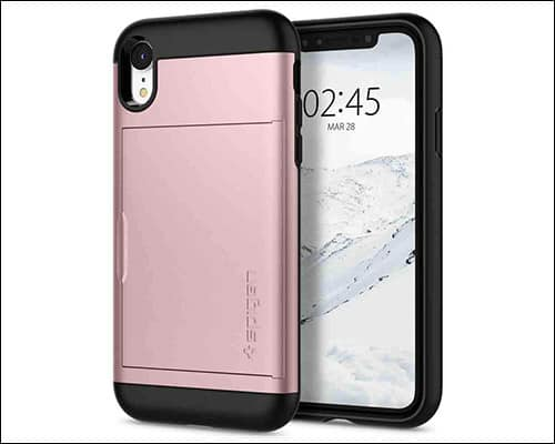Spigen Slim Armor iPhone XR Rugged Case