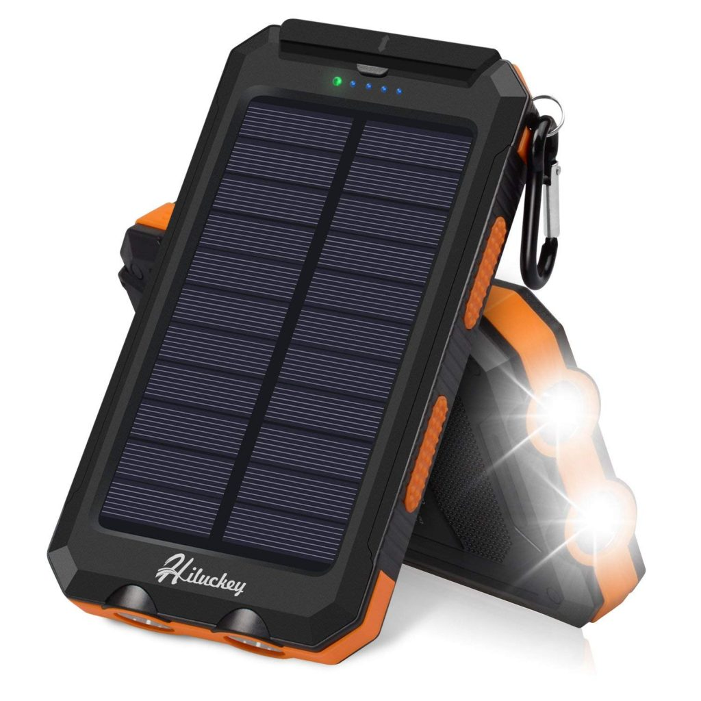 Best iPhone XS Solar Power Chargers Hiluckey