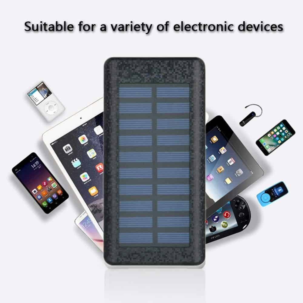 Best iPhone XS Solar Power Chargers Be-Charming