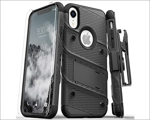 Ziso Bolt Series iPhone XR Rugged Case