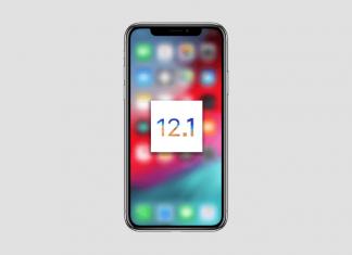 New iOS 12.1 Update