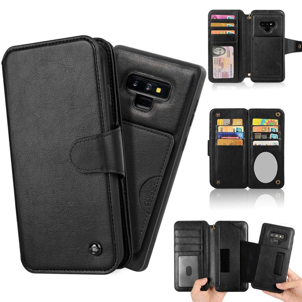 Galaxy Note 9 CORNMI Wallet Case