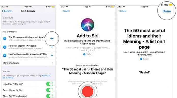 How to Use Siri Shortcuts 2  - 2 - iOS 12 Siri Shortcuts – How to Create, Edit and Use Apple's New Feature