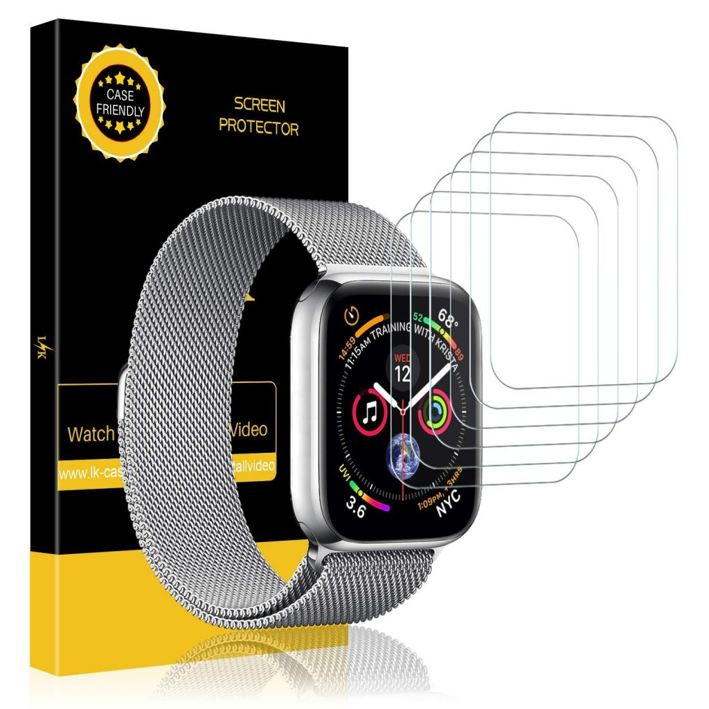LK Screen Protector  - 4 1 1024x1024 - Top Nine Apple Watch Series 4 Accessories