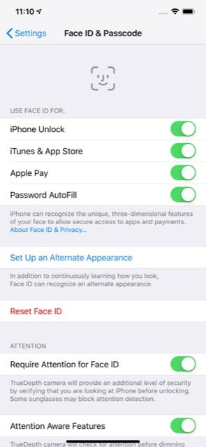How to Setup Face ID
