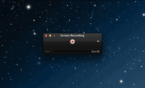 Built-in Screen Recorder