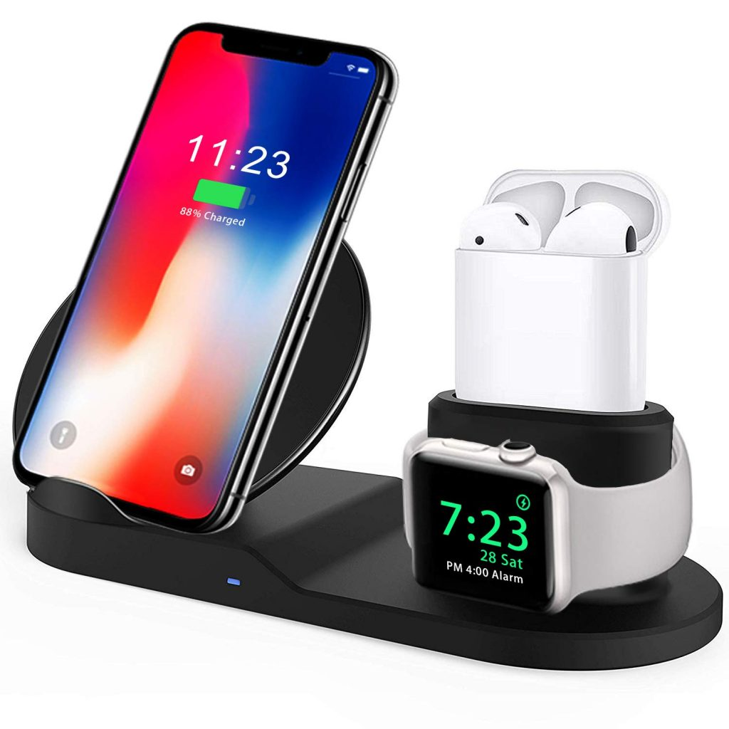 3-in-1 Wireless Charger for iPhones